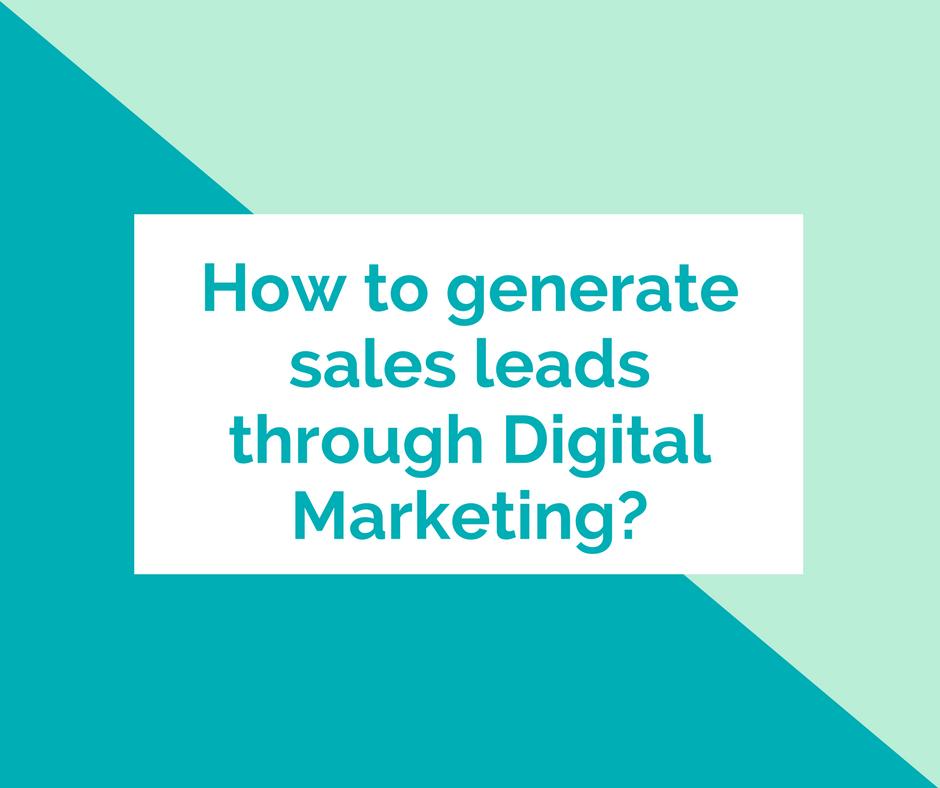 Digital Marketing Agency Singapore & Asia helps you generate sales leads using digital marketing tools