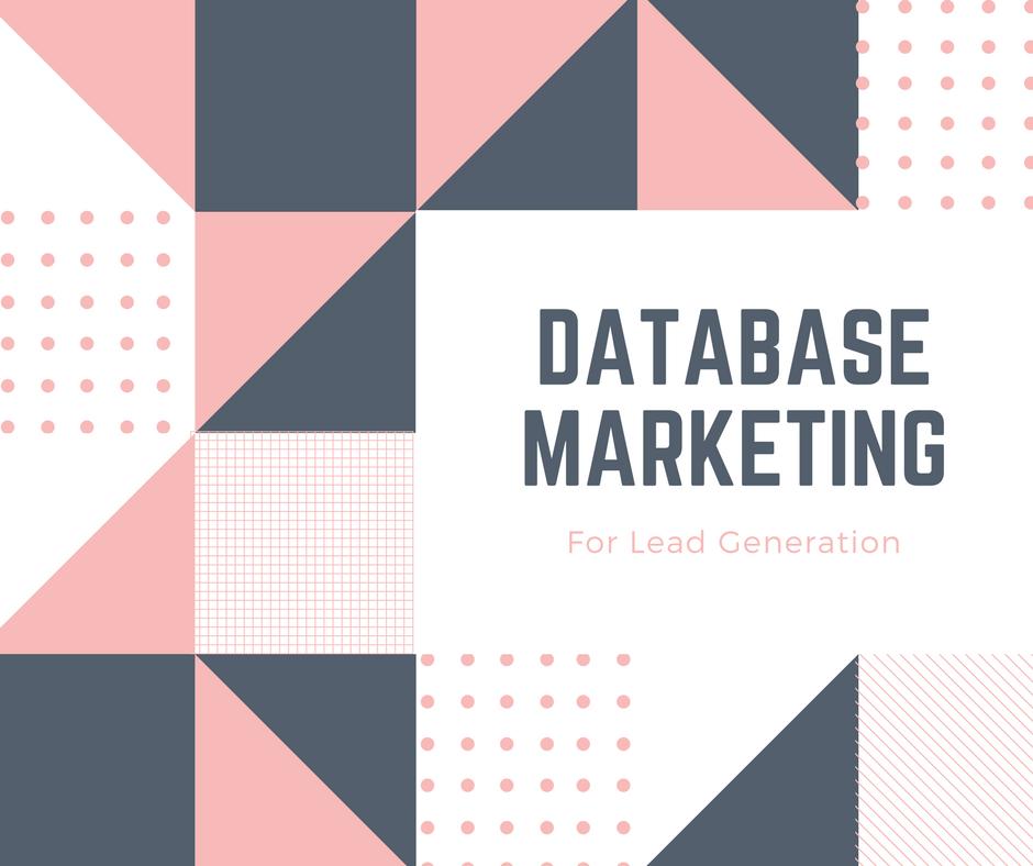 Lead Generation Singapore Asia providing database marketing for lead generation