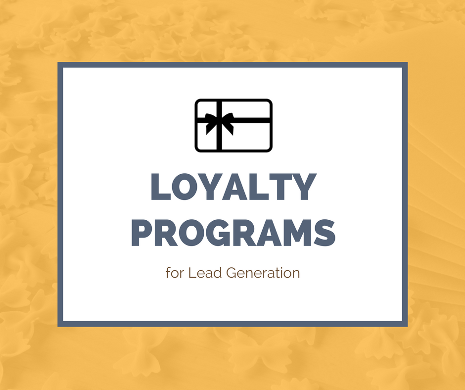 Loyalty programs for lead generation created by Lead Generation Agency Singapore Asia