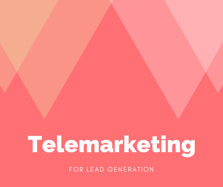 Lead Generation Agency Singapore Asia holding telemarketing for lead generation