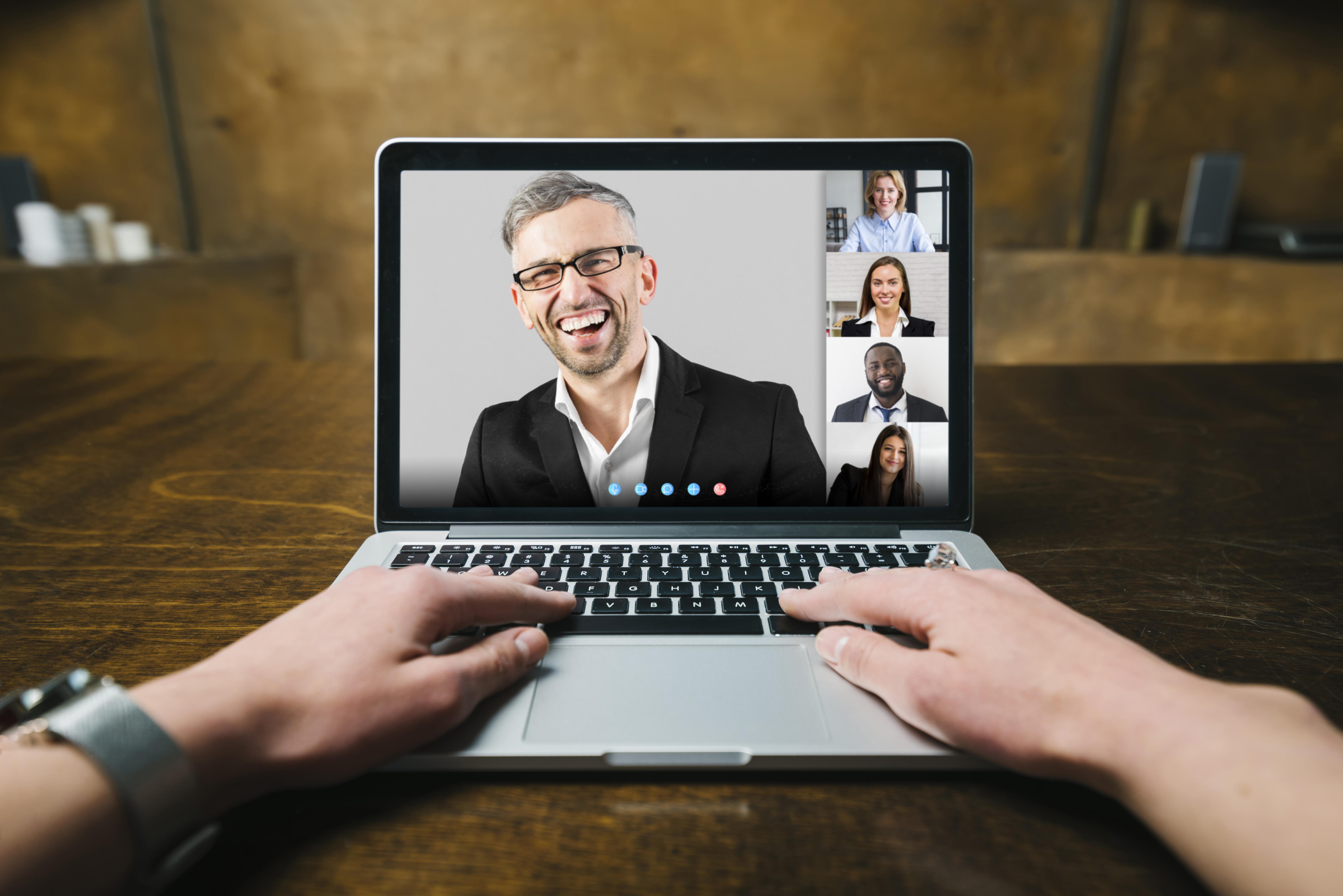 iSmart Communications Webinar Business Video Call