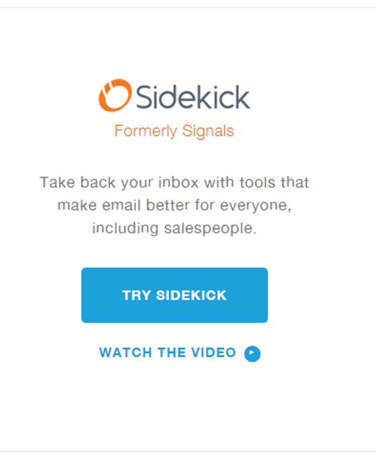 HubSpot Sidekick